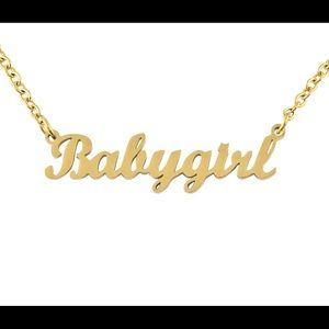 """COPY - 2pc """"Babygirl"""" Chains"""